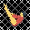 Acrobat Circus Girl Icon
