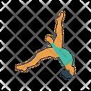 Acrobat Girl Circus Icon