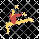 Acrobat Circus Women Icon