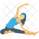 Acrobatic Exercising Workout Icon