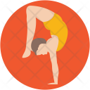 Acrobatic Yoga Gymnastics Icon