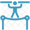 Acrobatic Circus Trapeze Icon