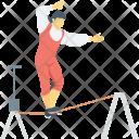 Acrobatic Circus Funambulism Icon