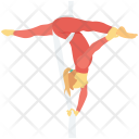 Acrobatic Dance Yoga Icon
