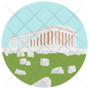 Acropolis Athens Wonder Icon