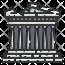 Acropolis Athens Icon