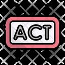 Act Button Marketing Icon