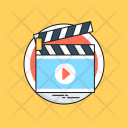 Action Clapper Board Icon