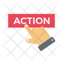 Action Press Tap Icon