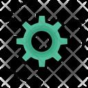 Action Cogwheel Generator Icon