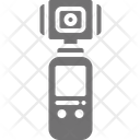 Action Camera Stick Icon