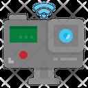 Action Camera Internet Icon