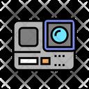 Action Camera Color Icon