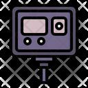 Camera Recorder Travel Photography Icon