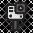 Action Camera Gopro Record Icon