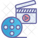 Action Clapper Cinematography Clapper Icon