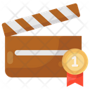 Actionboard Clapperboard Slat Board Icon