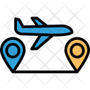 Active aircraft tracking Icon