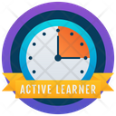 Active Learner Educational Badge Badge Icon