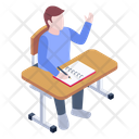 Enquiries Active Learner Classroom Icon
