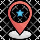 Active Position Favorite Location Favorite Place Icon