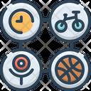 Activity Stir Bustling Icon