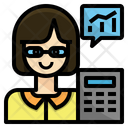 Actuary Economist Accountant Icon