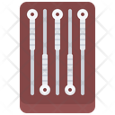Acupuncture Needle Relaxation Icon