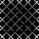 Acute Angle Icon