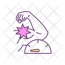Muscle Biceps Pain Icon