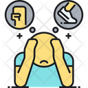 Acute Stress Response Fight Or Flight Hyperarosual Icon