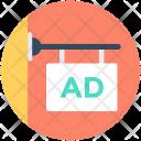Ad Hangingboard Advertisement Icon