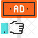 Ad Advertisement Board Icon