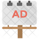 Digital Billboards Ad Icon