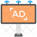 Ad Billboard Signboard Icon