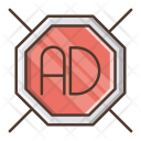 Ad Blocker Digital Icon