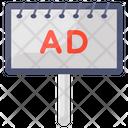 Ad Board Campaign Placard Icon