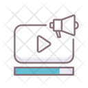 Ad Completion Video Marketing Video Icon