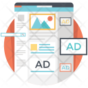 Ad locations Icon