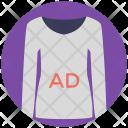 Ad on Shirt Icon