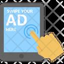 Ad On Tab Digital Advertising Mobile Advertising Icon