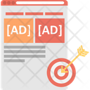 Ad Target Audience Target Ad Campaign Icon