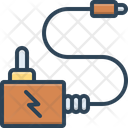 Adapter Charge Connector Icon