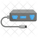 Adapter Wire Port Icon