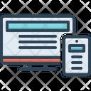 Adaptive Computer Cpu Icon