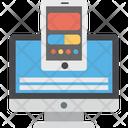 Adaptive Design Content Sharing Responsive Design Icon