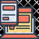 Adaptive Interface Modifying Flexible Icon