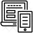 Adaptive Layout Responsive Layout Responsive Design Icon