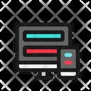 Adaptive Responsive Icon