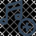 Add Music Playlist Icon